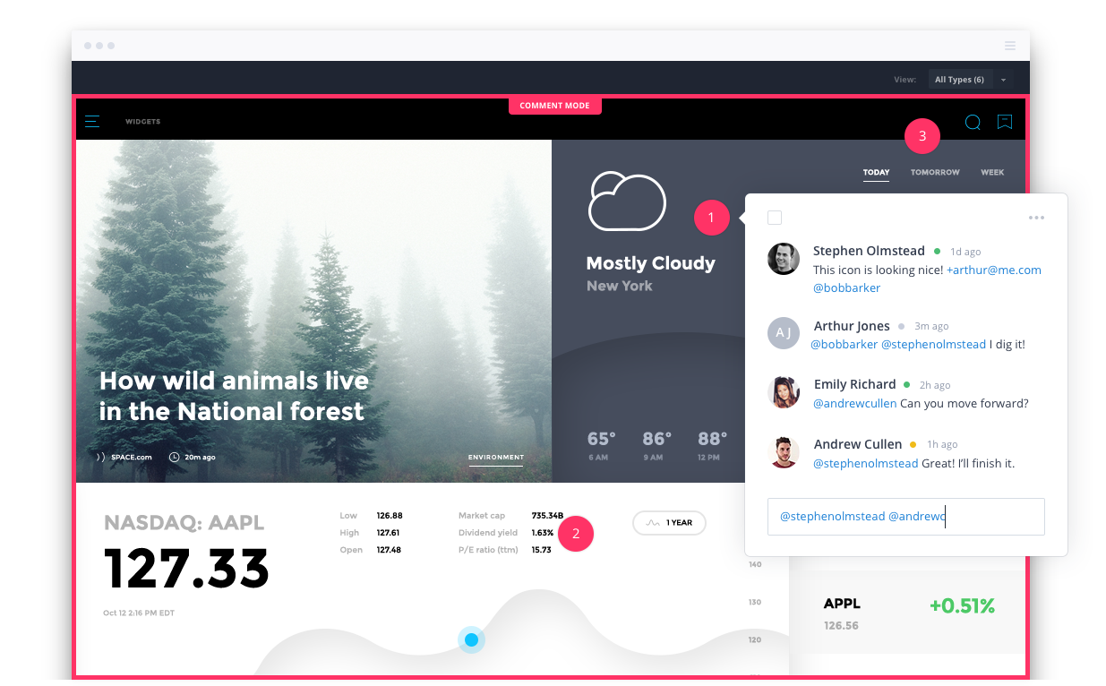 Collaborative Web Design for your Clients with InVision | UpCity Blog