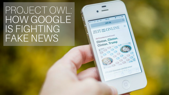 Project Owl: How Google Is Fighting Fake News | UpCity | SEO
