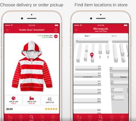 Developing Mobile App - Target