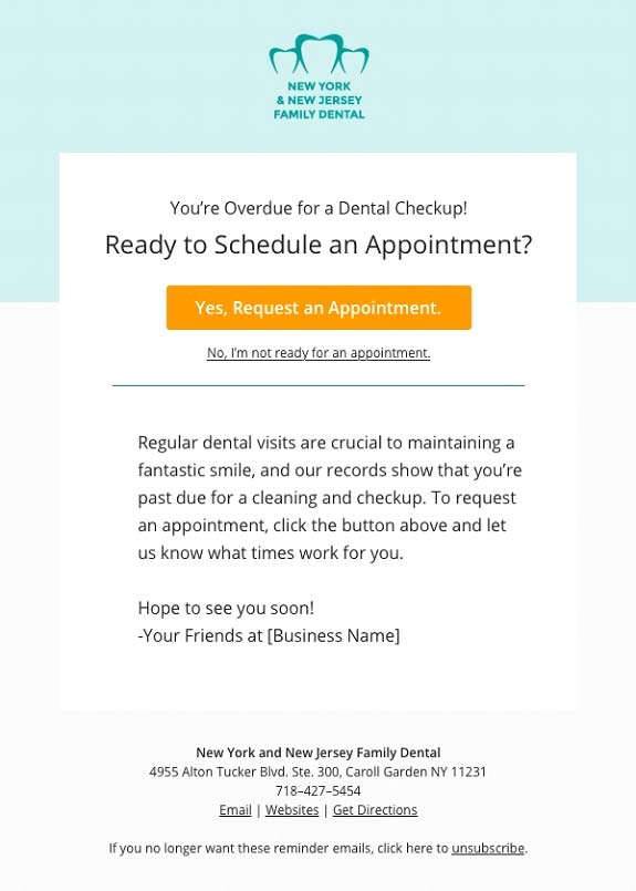 Dental Email Marketingtips Templates And Tools Upcity