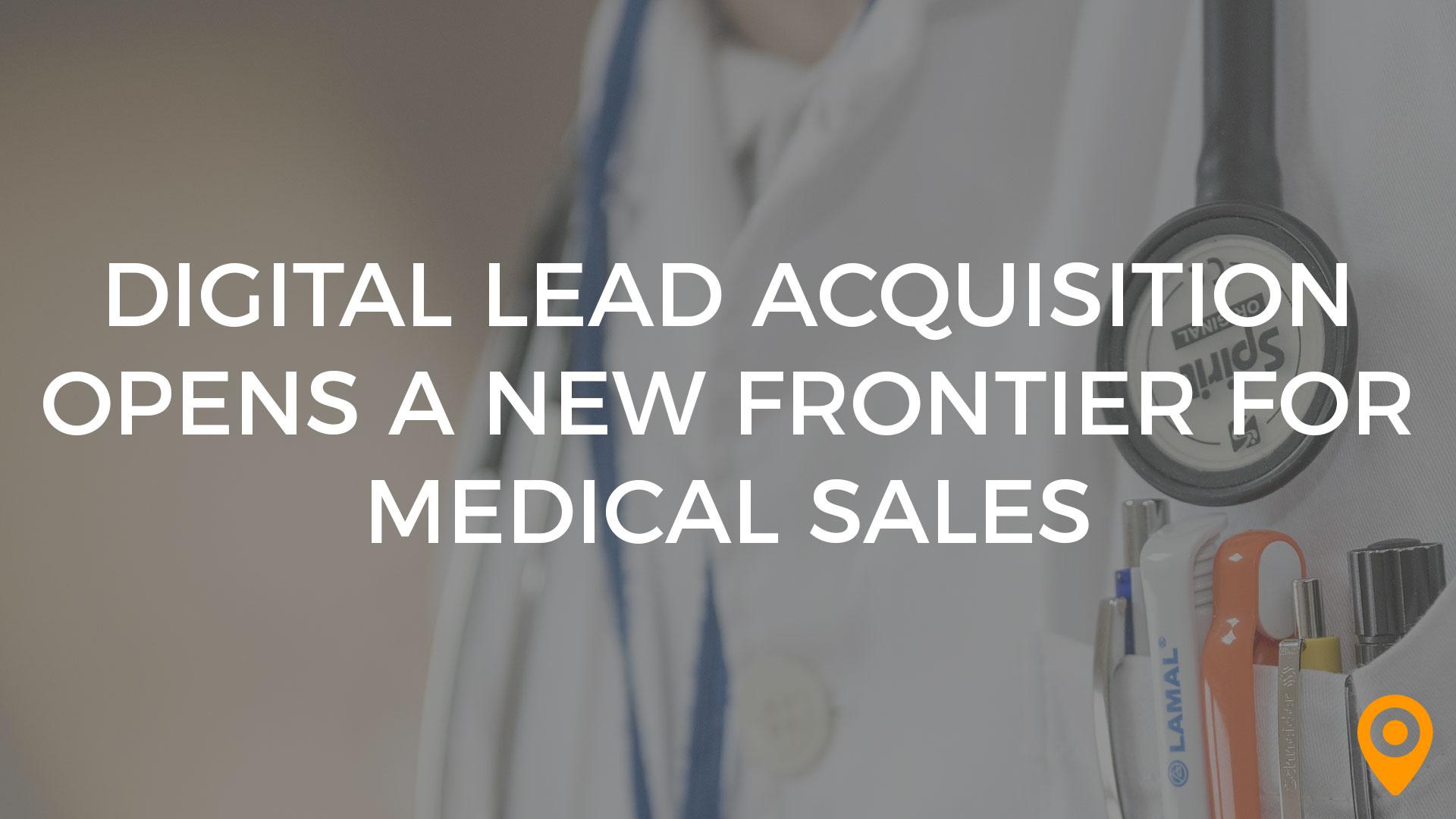 medical sales banner