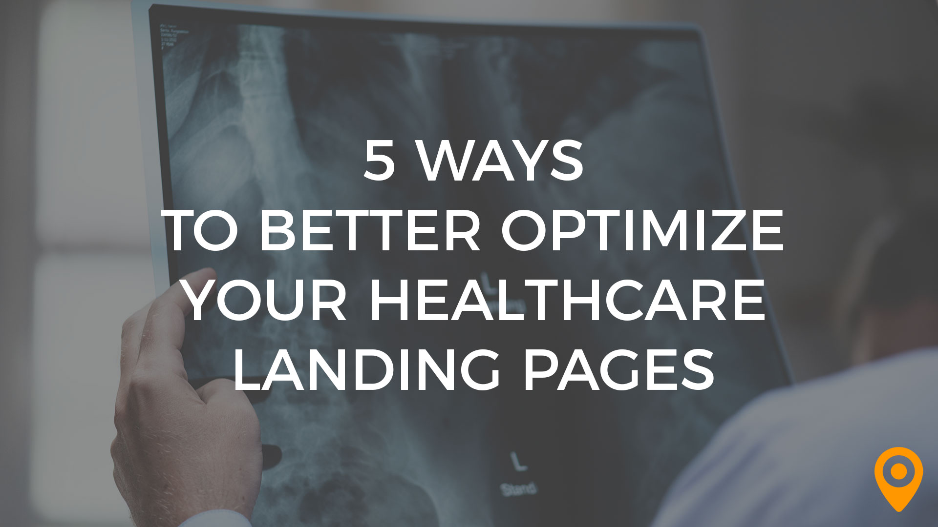 healthcare landing pages