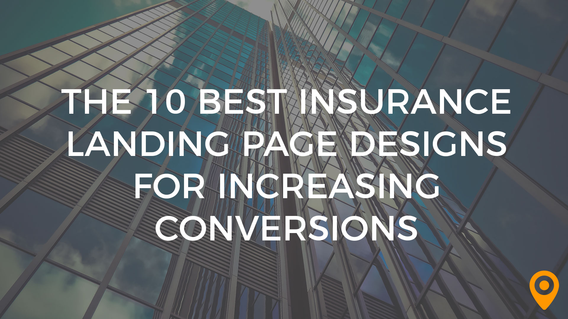 insurance landing page designs