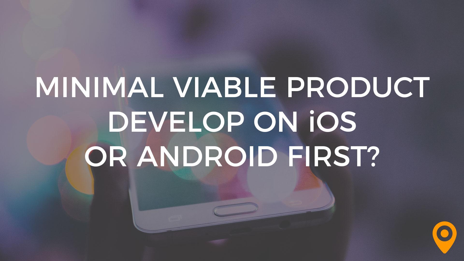 minimal viable product banner