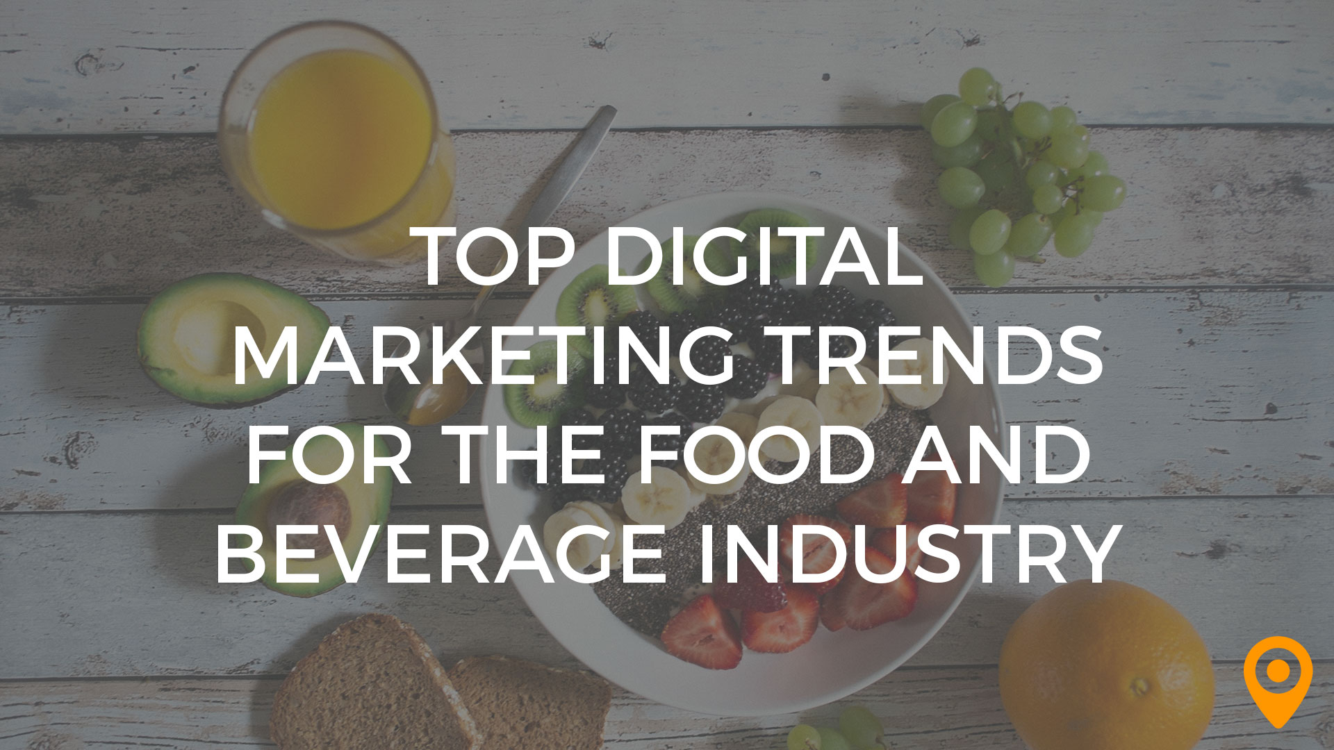 marketing trends food bev