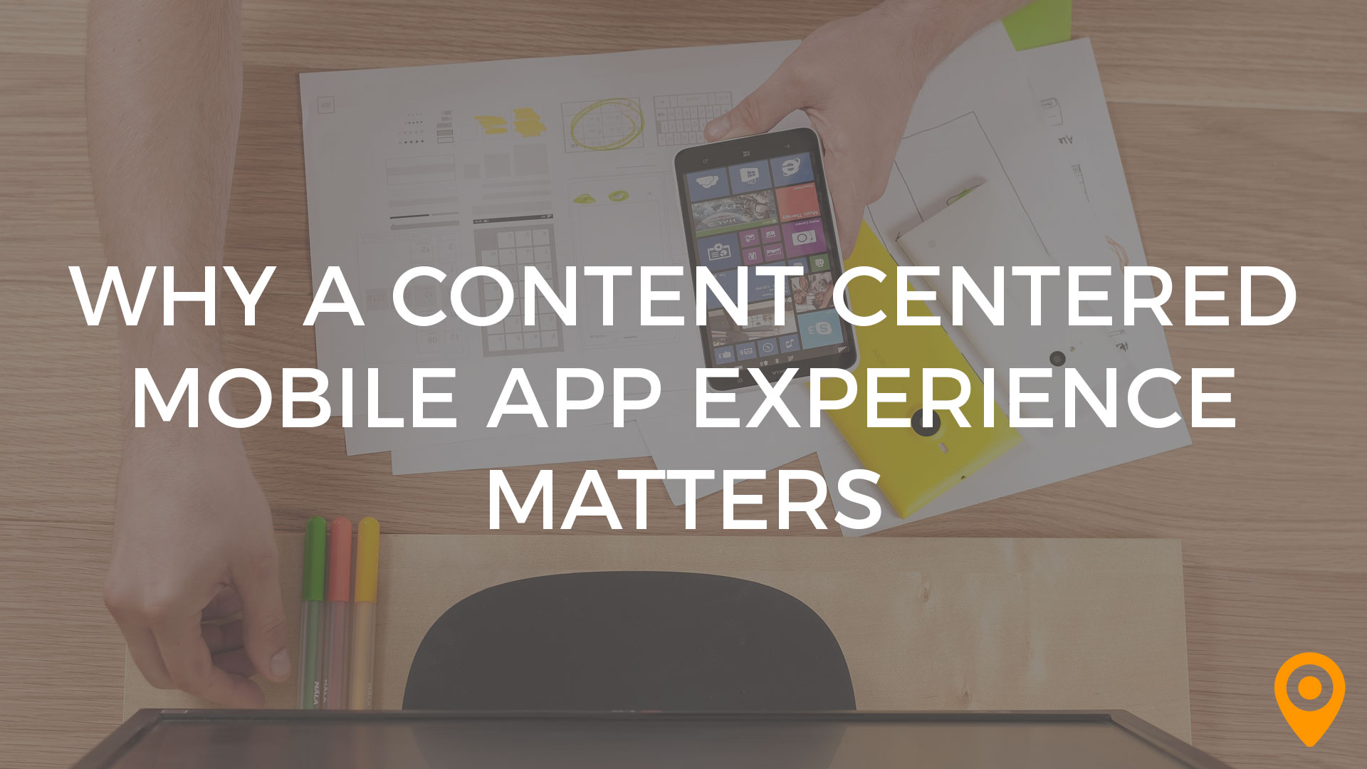 Content Centered Mobile App Experience