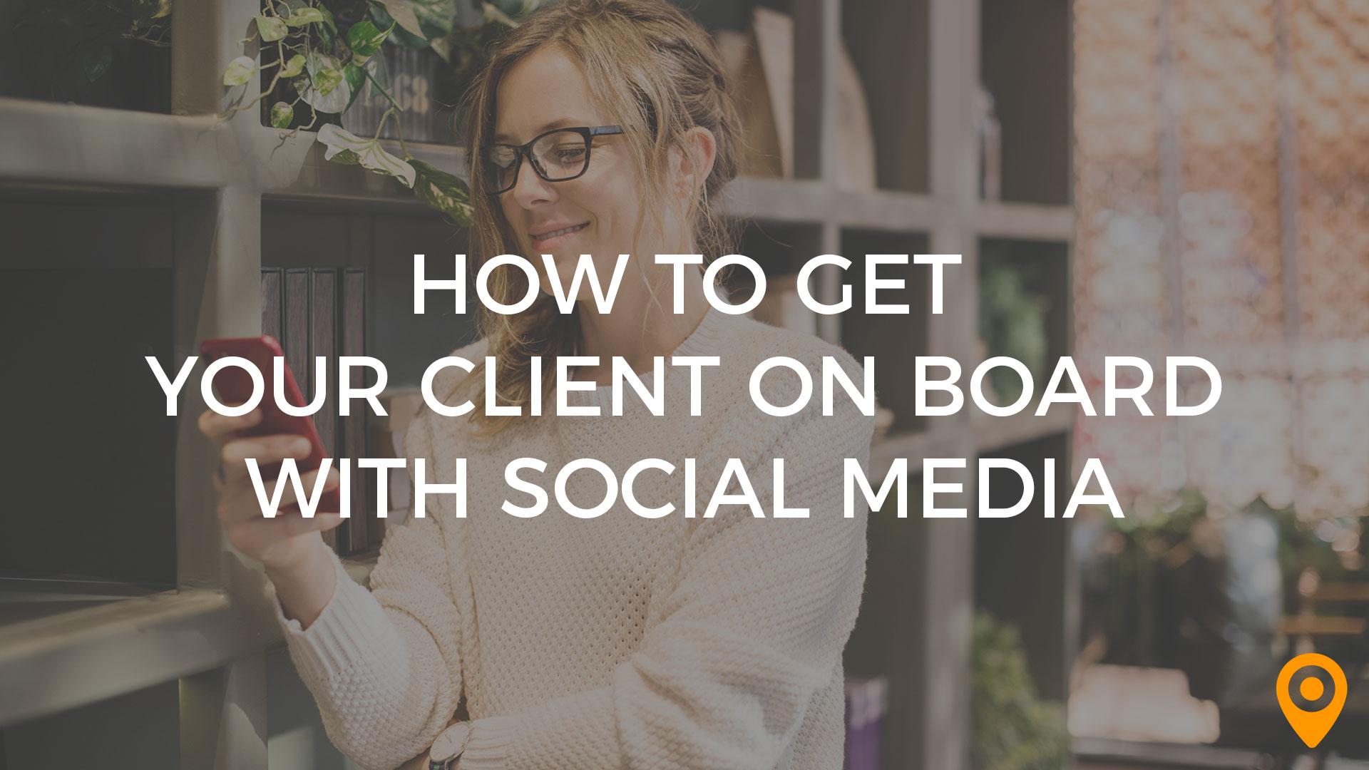 client social media