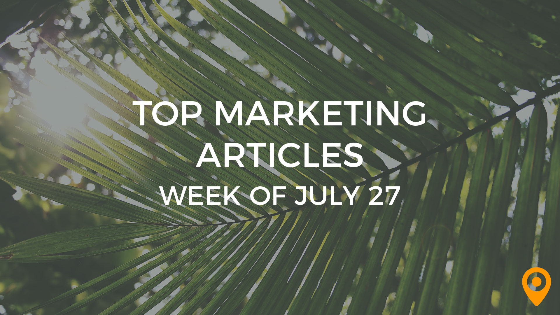 Top Marketing Articles - July 27