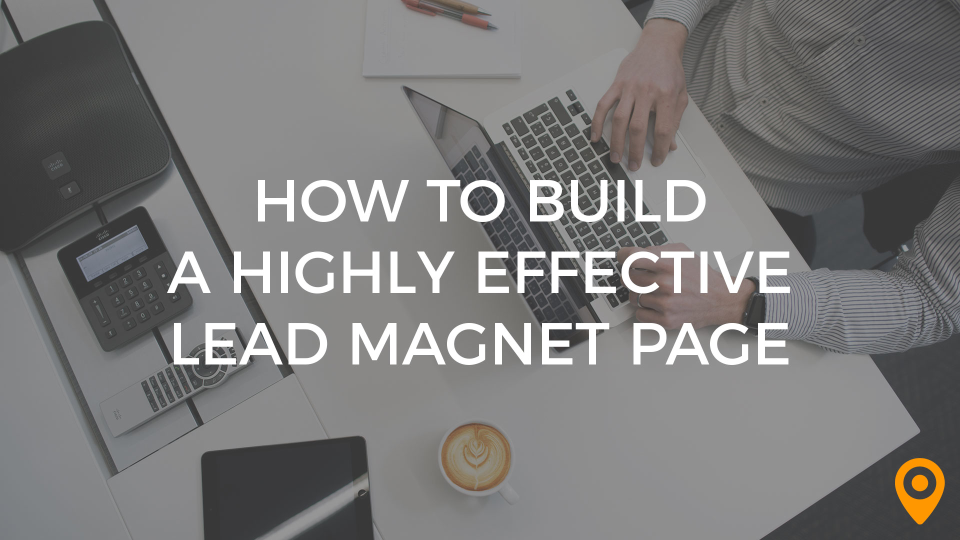 lead magnet page