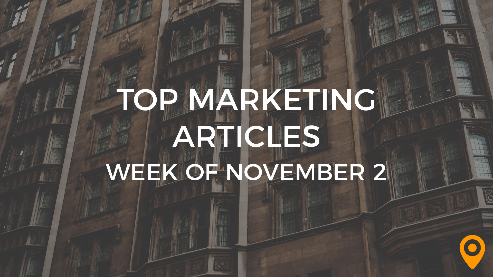 Top Marketing Articles-November 2