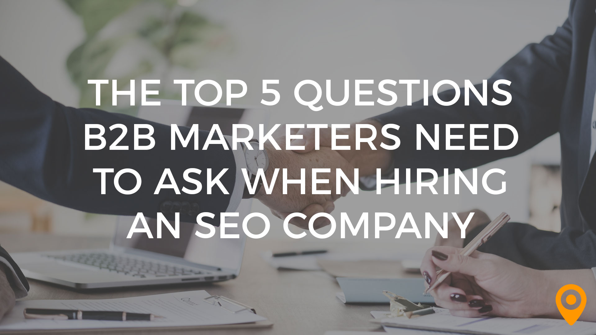 B2B Marketers and SEO