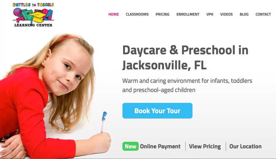 Wordpress Daycare Example