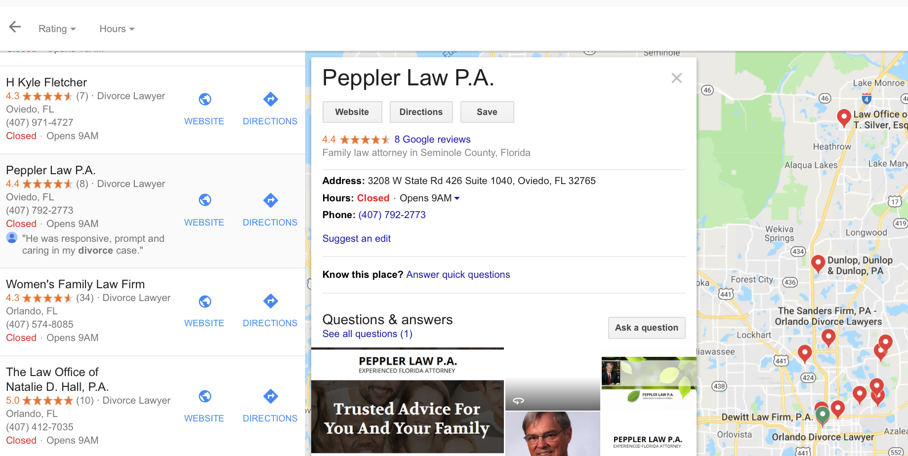 Peppler Law Example 2
